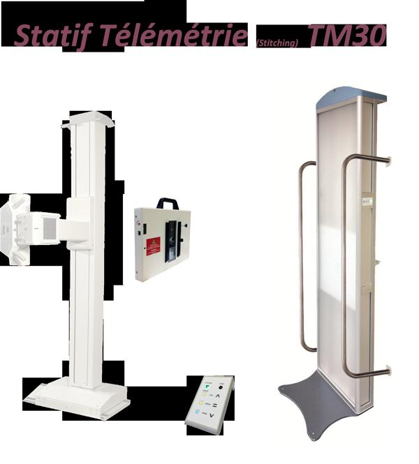 Statif de télémetrie TM30 avec mesures orthopédiques