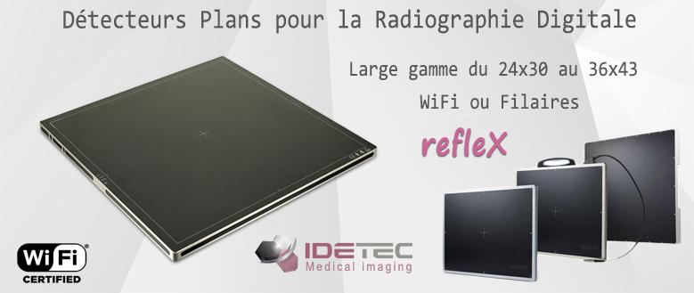 Capteurs plans de la gamme refleX d'Idetec