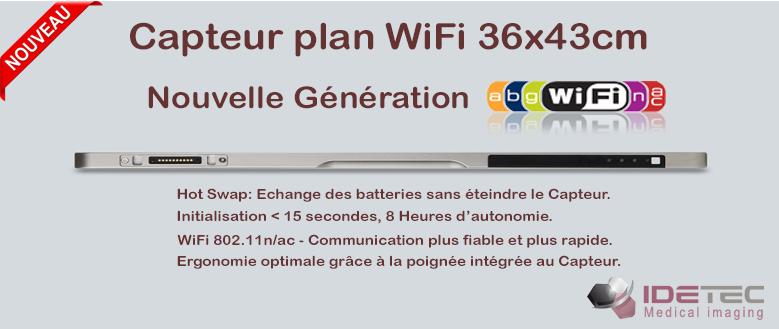 Nouveau Capteur Plan Idetec 36x43 Wifi